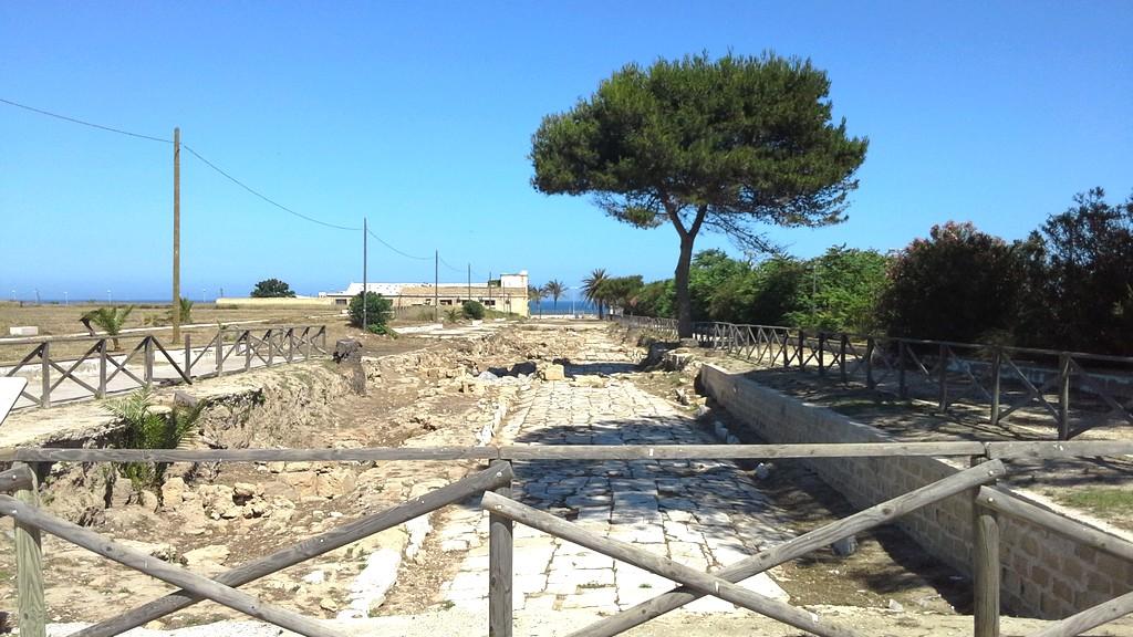 """Lega Marsala al Parco Archeologico Lilibeo: """"Idee progettuali per rendere fruibili i viali dell'area"""""""