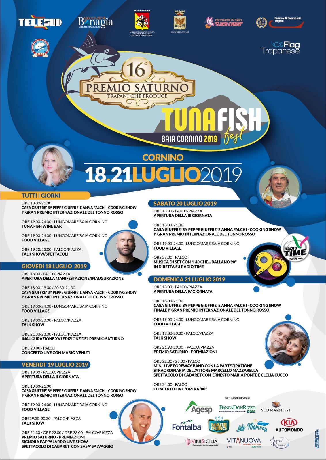 A Cornino la terza edizione del Tuna Fish Fest