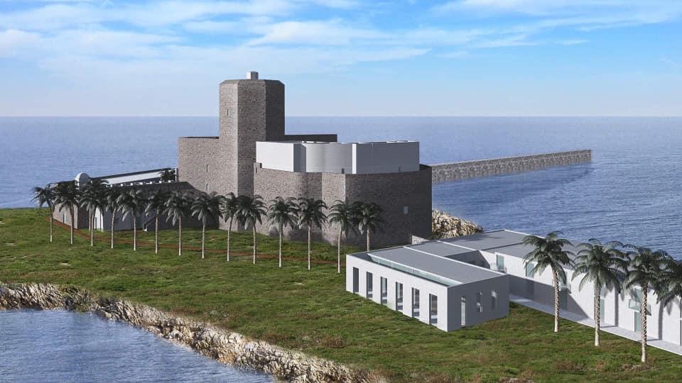 Lo Studio marsalese Castellinaria vince il bando di assegnazione del castello Colombaia di Trapani