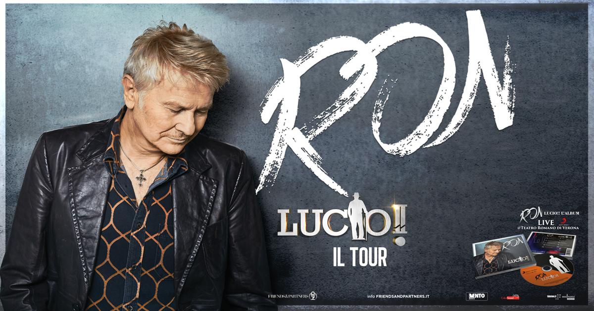 Per Kebrillerà evento unico: Ron canta Lucio Dalla alle Cantine Fina di Marsala l'11 agosto