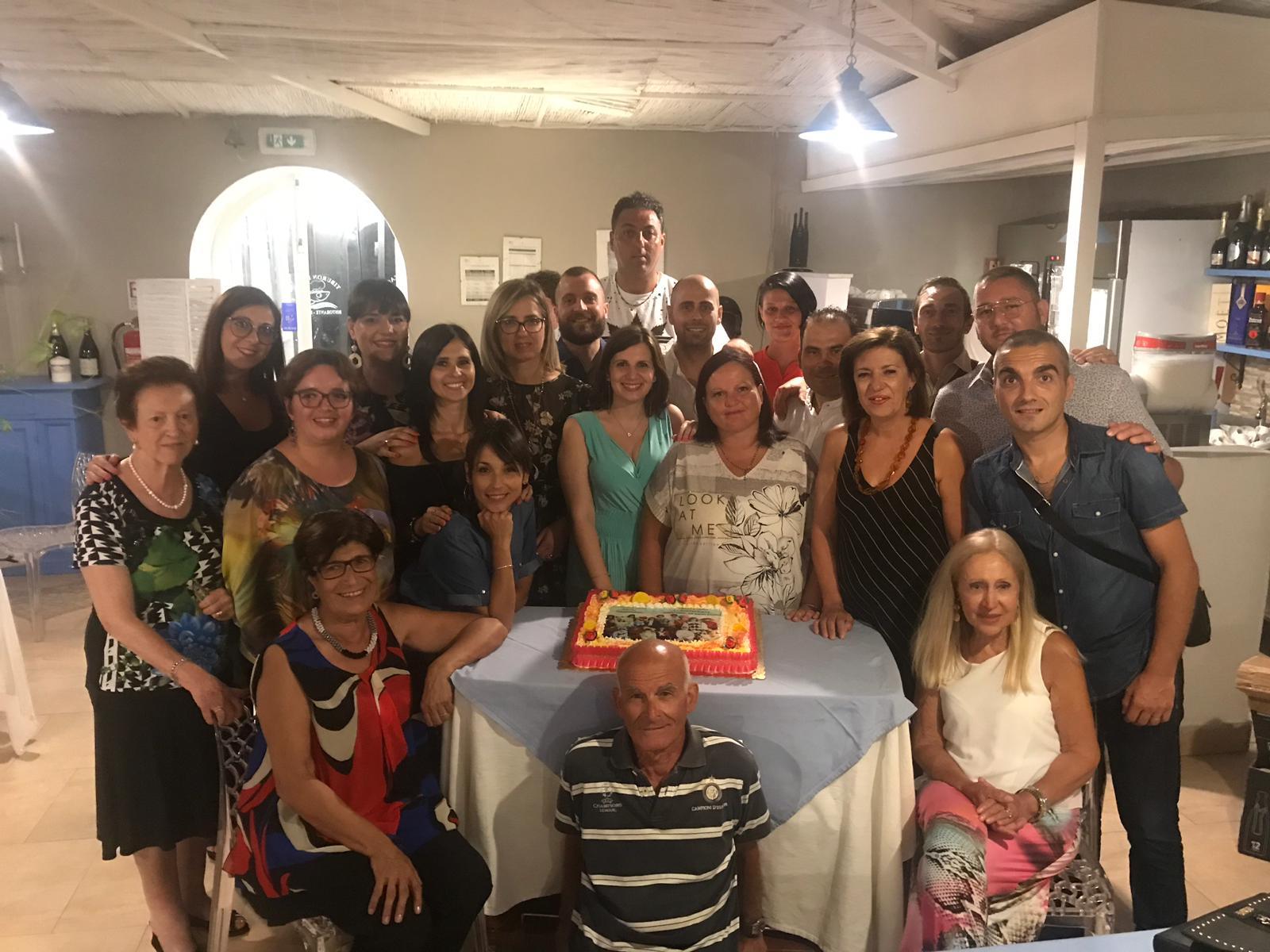 Dopo 29 anni si ritrovano gli ex compagni della Torreggiano di Petrosino