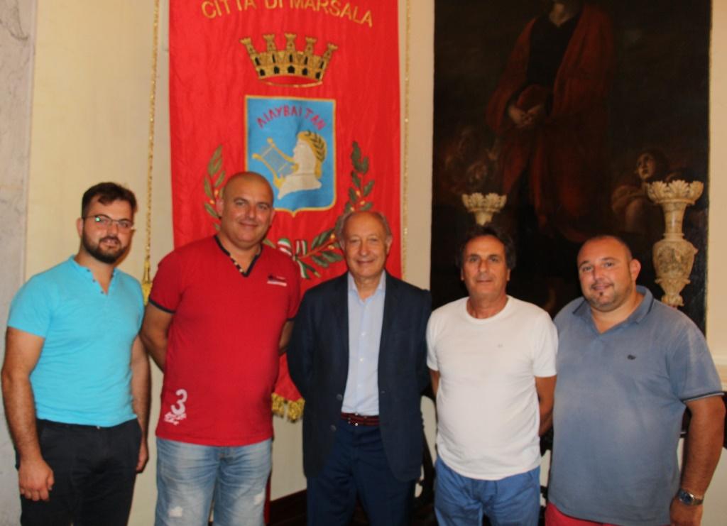 Il Comitato Pro Festeggiamenti di Strasatti ricevuto dal sindaco
