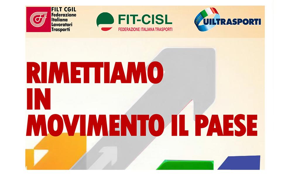 Cgil Cisl e Uil in Prefettura domani Anche a Trapani per lo sciopero nazionale trasporti