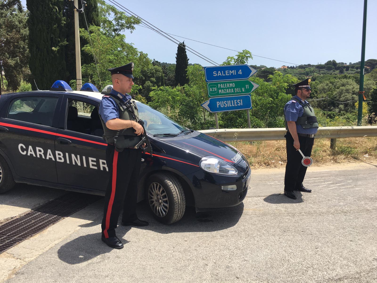 Mazara: i Carabinieri arrestano un 34enne per spaccio. Droga in auto e in casa