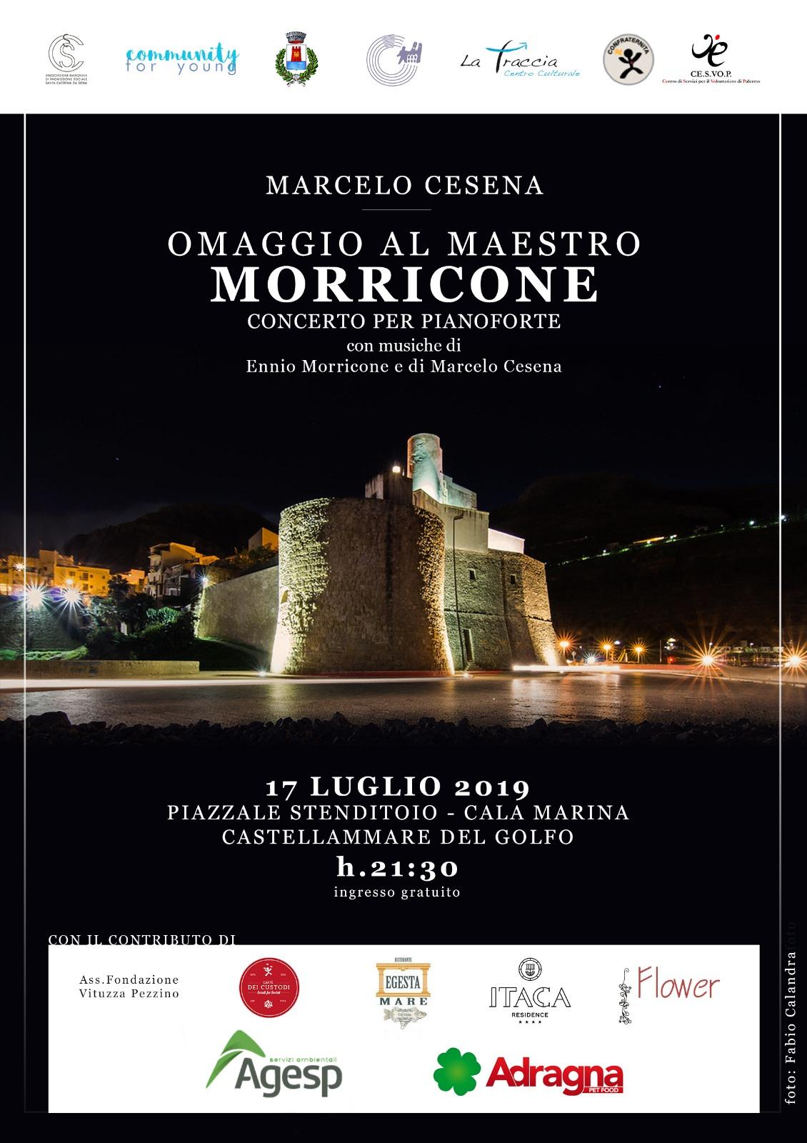 Omaggio ad Ennio Morricone, in scena Marcelo Cesena