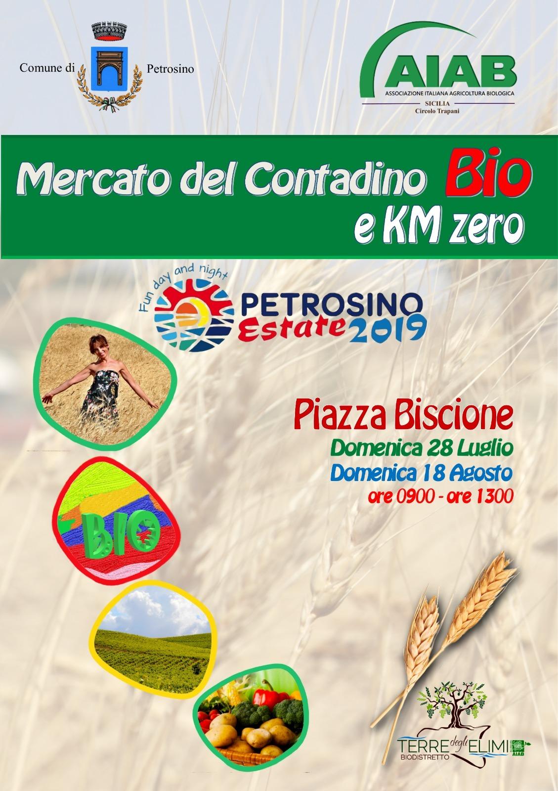 Petrosino Estate: domani al Biscione il Mercato Bio e a Km Zero
