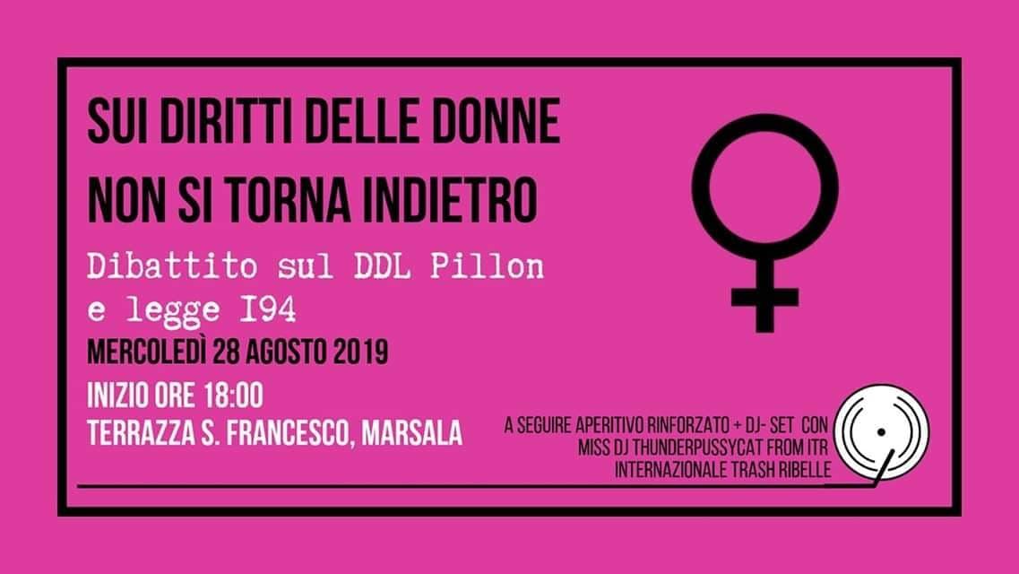 Diritti delle donne, a Marsala un dibattito organizzato da Arci Scirocco
