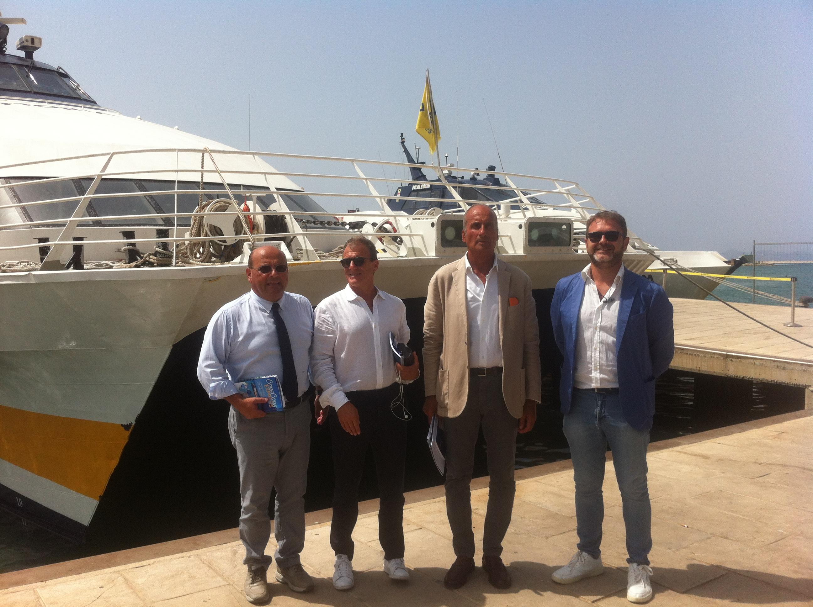Verso il Cous Cous Fest: presentato il collegamento marittimo Trapani-San Vito