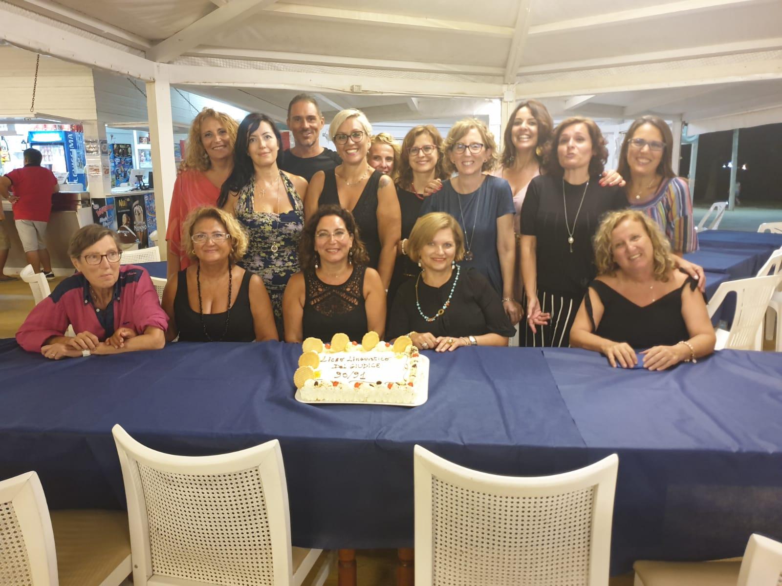 """Reunion dei liceali del Linguistico """"Del Giudice"""" di Marsala anno 1990/1991"""