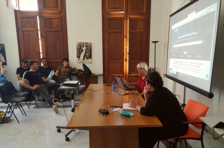 Gli alunni del Turistico Commerciale alla Digital Summer School di Marsala e Favignana