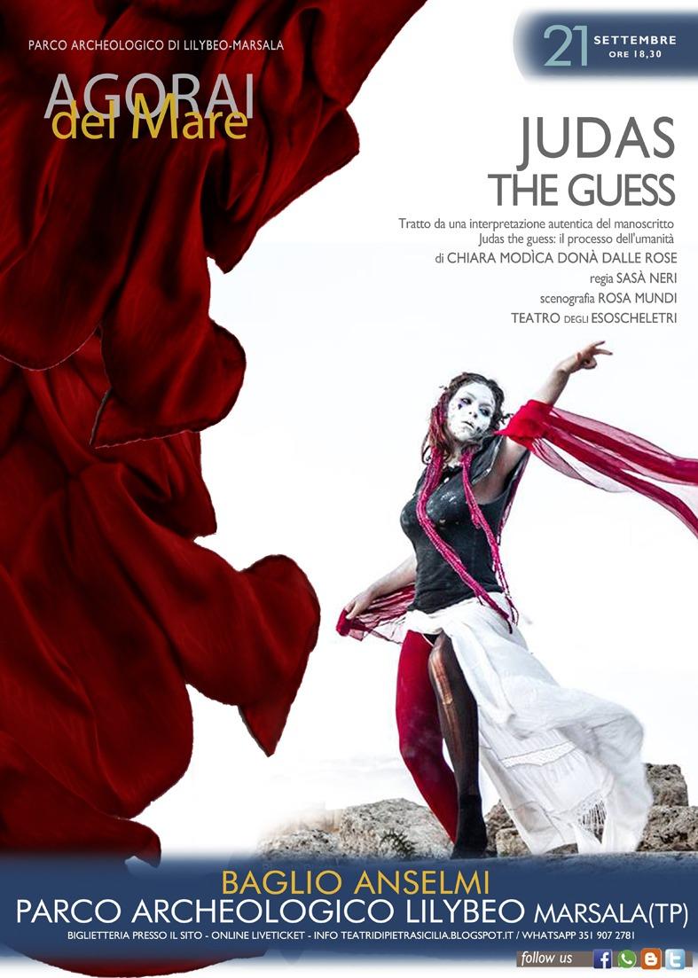 """Agorai del Mare: oggi spettacolo rinviato ma sabato arriva l'opera """"Judas, The Guess"""""""
