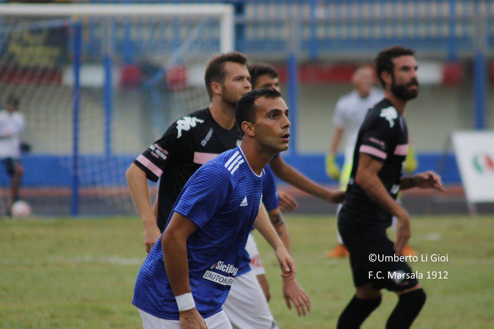 Marsala Calcio: l'attaccante Ficarrotta ceduto al Palermo