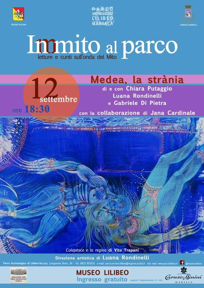 """InMito al Parco: in scena """"Medea, la strània"""" di Rondinelli-Putaggio"""