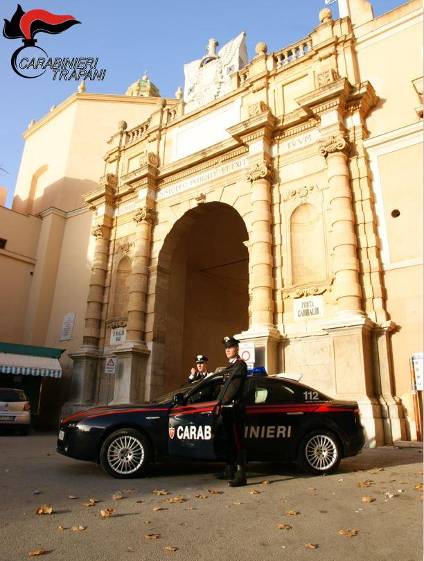 Marsala: spacciava marijuana in pieno centro storico, arrestato dai Carabinieri