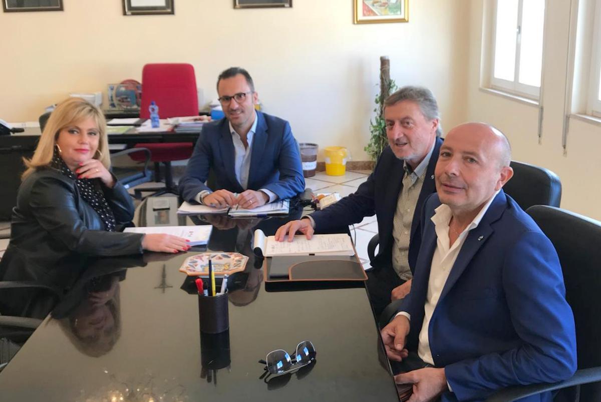 #RilanciamoTrapani Cgil, Cisl e Uil Trapani incontrano il sindaco di Valderice