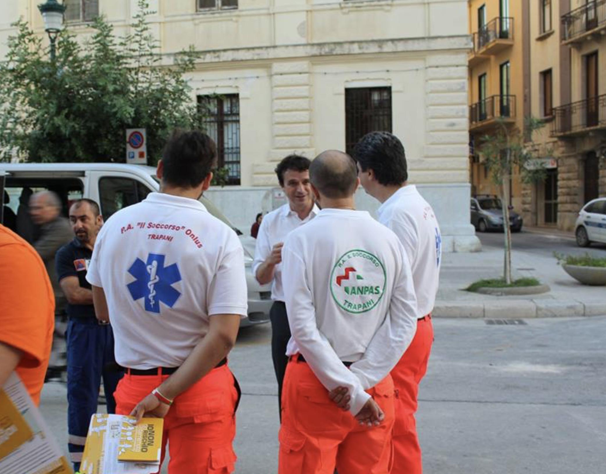 """""""Io Non rischio"""": a Trapani la manifestazione dei volontari di Protezione Civile"""