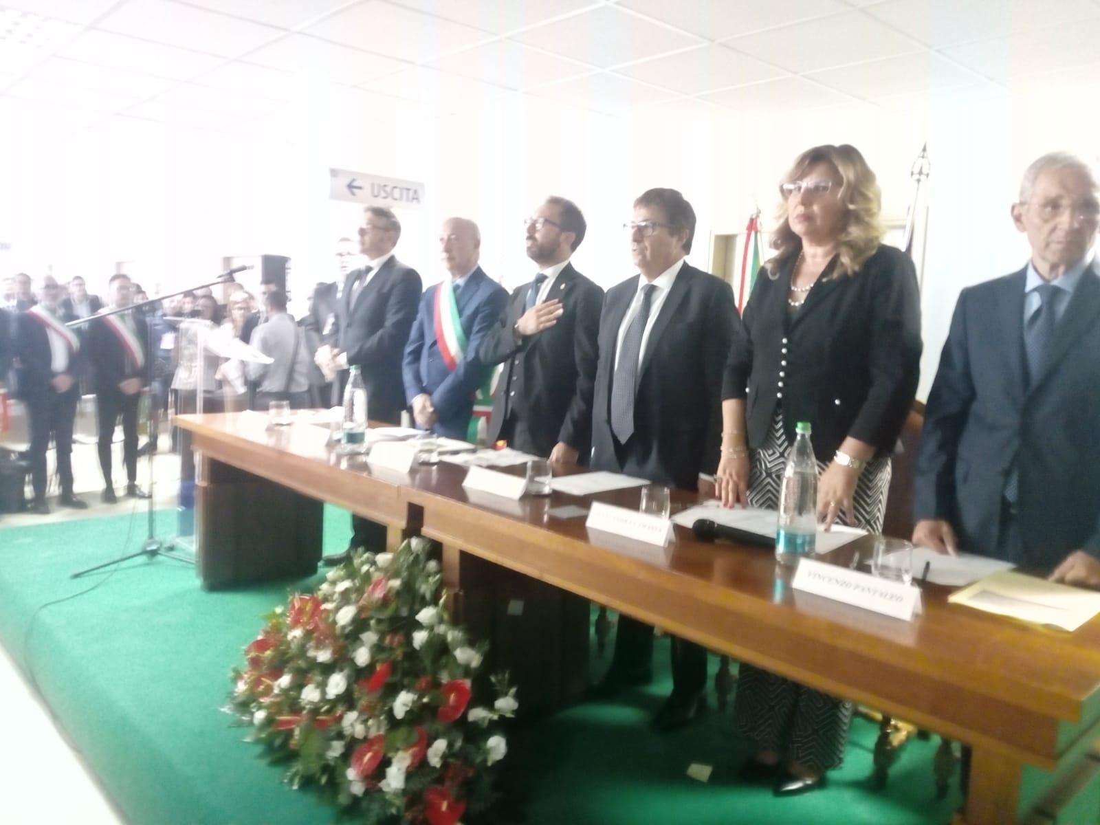 Il nuovo Tribunale di Marsala apre le porte: il taglio del nastro col Ministro Bonafede. FOTO