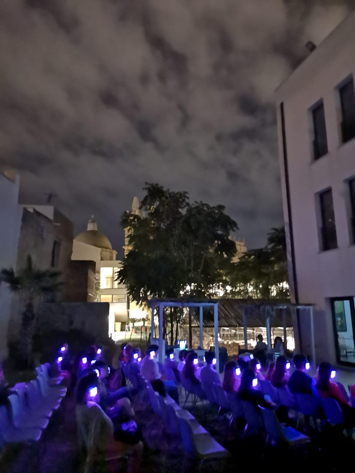Il Cinema Fantastico a Mazara vissuto con le cuffie wireless: grande successo