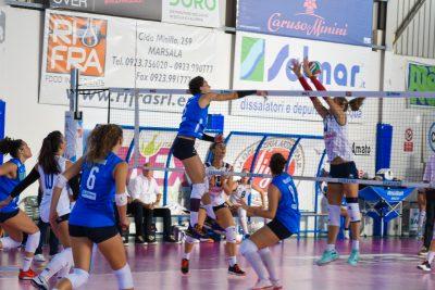 La Sigel Marsala Volley rinvia ancora l'appuntamento con la vittoria. Perde a Pontecagnano Faiano