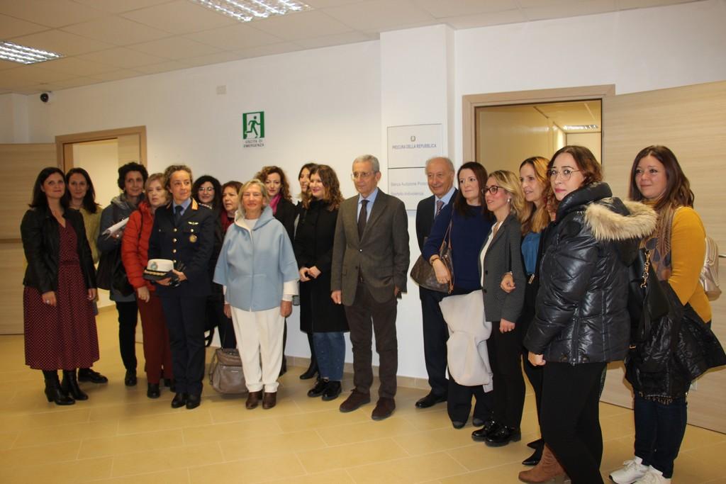 Inaugurato lo Sportello Antiviolenza al Tribunale di Marsala, protezione e tutela per le vittime