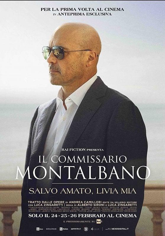 """Il Commissario Montalbano sbarca al Cinema con l'episodio """"Salvo amato, Livia mia"""""""