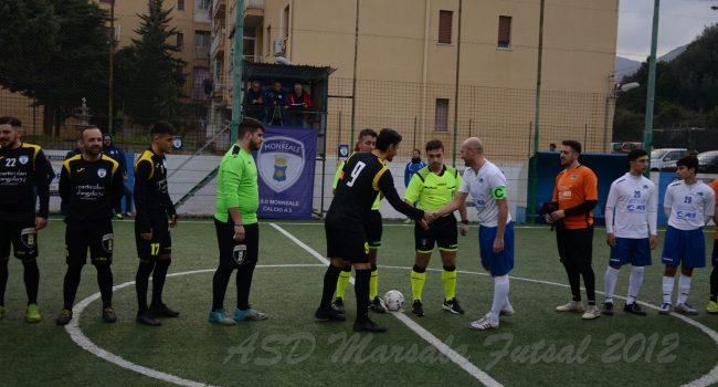 Calcio a 5: il Marsala si impone sul Monreale per 3 a 4