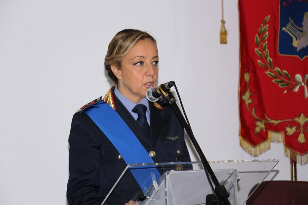 La comandante della Polizia Municipale di Marsala Michela Cupini