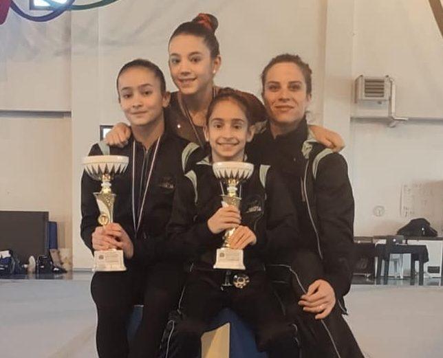 Per la Marsala Gym Lab oro e argento alla prima di Campionato regionale