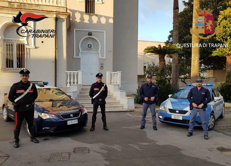 Furto in abitazione, carabinieri e polizia arrestano 5 marsalesi