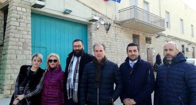Delegazione del M5S in visita al carcere di Trapani
