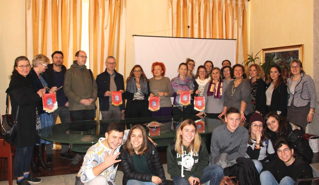 Erasmus sullo Sviluppo Sostenibile, studenti stranieri ricevuti al Comune di Marsala