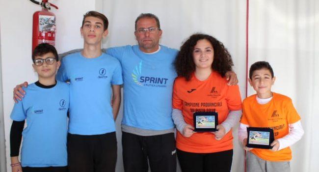 Atletica Sprint: tanti giovani del territorio sul podio ai Campionati provinciali Fidal