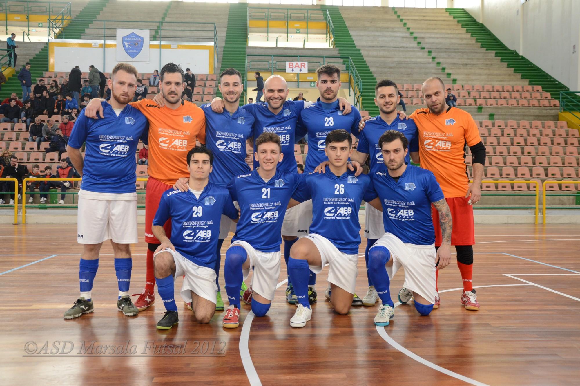 Il Marsala Futsal s'impone sul San Cataldo per 5 a 1