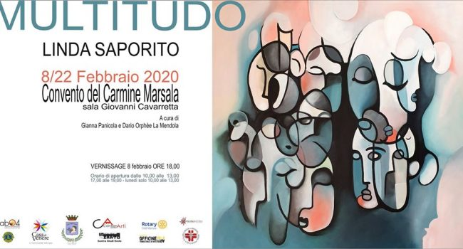 """Al Carmine """"Moltitudo"""", la mostra dell'artista Linda Saporito"""
