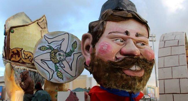 Carnevale di Marsala: sei carri allegorici e tanta festa