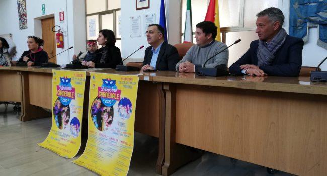 Presentato il Carnevale Petrosino 2020: maschere e carri per la città dal 22 al 25 febbraio