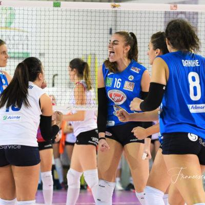 Per la Sigel Volley Marsala vittoria per tre set a zero contro il Club Italia