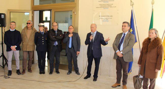 Inaugurata la nuova sede degli uffici tecnici comunali nell'ex Tribunale di Marsala