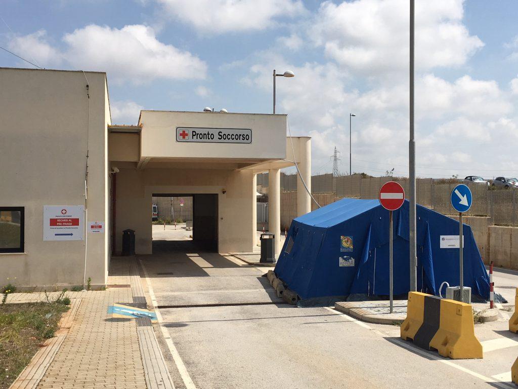 Pronto Soccorso Ospedale Marsala Covid