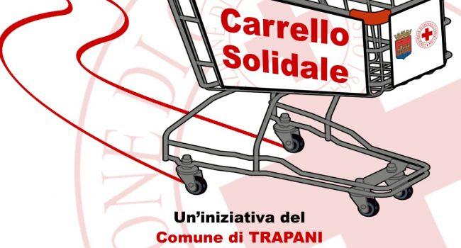 """""""Carrello solidale"""", iniziativa del comune di Trapani e la Croce Rossa Italiana"""