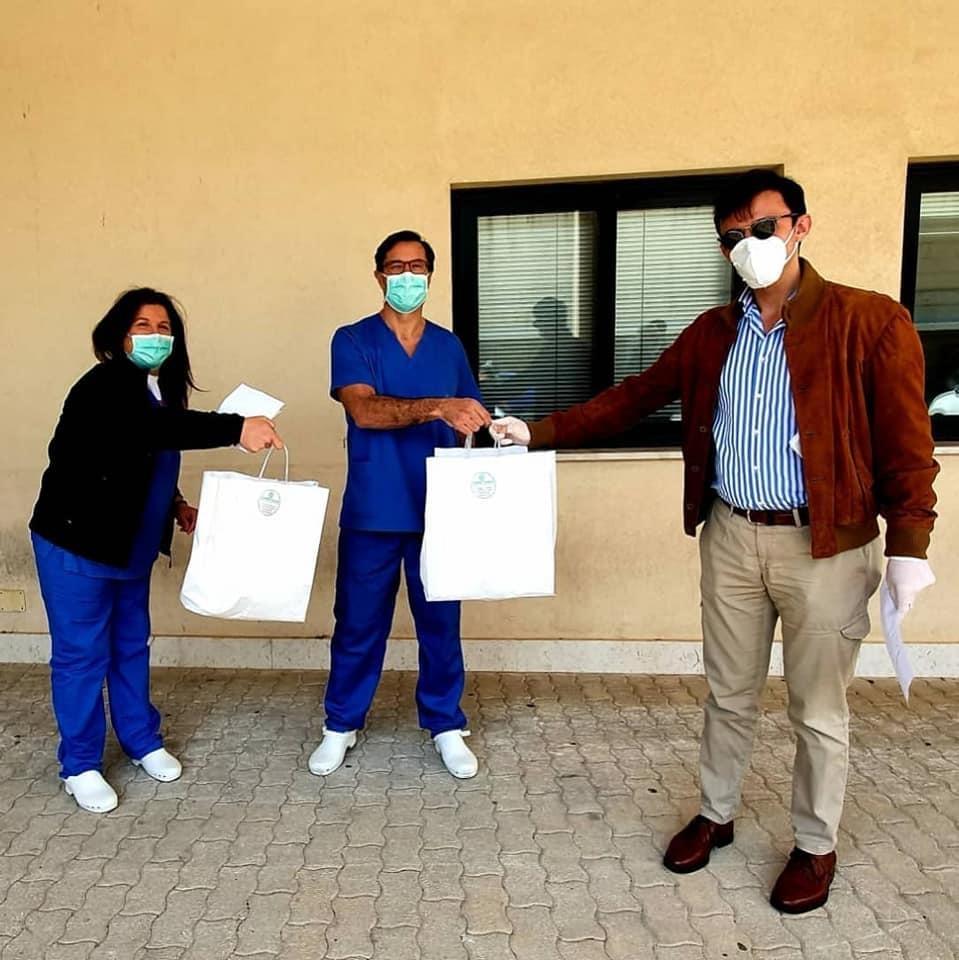 """Le donazioni del Rotaract Marsala al """"Paolo Borsellino"""""""