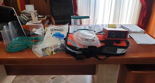 Partanna: le Istituzioni donano ventilatore polmonare e dispositivi all'ospedale di Castelvetrano