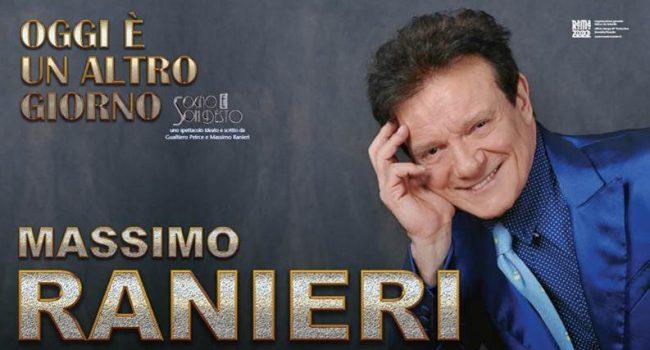 Rinviato al 13 novembre il concerto di Massimo Ranieri al Teatro Impero di Marsala