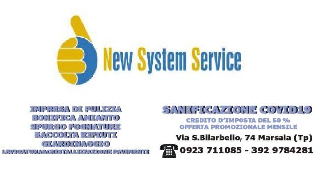 Servizio di sanificazione COVID-19 con la New System Service
