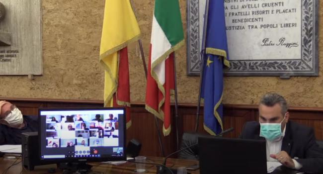 Consiglio comunale di Marsala tre ore di discussione online per approvare un atto d'indirizzo