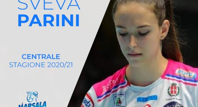 Sigel Volley Marsala: arriva anche Sveva Parini