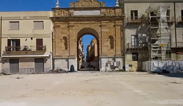 "Marsala: Porta Nuova ""libera"", via i giardini. IL VIDEO"