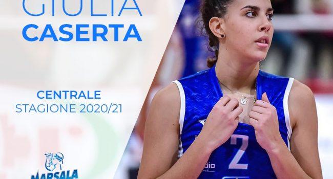 La Sigel Marsala si rinnova: arriva la centrale Giulia Caserta