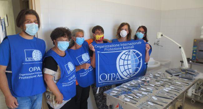 """OIPA Partanna dona kit per sterilizzazioni: """"Il Comune non ignori il problema"""""""