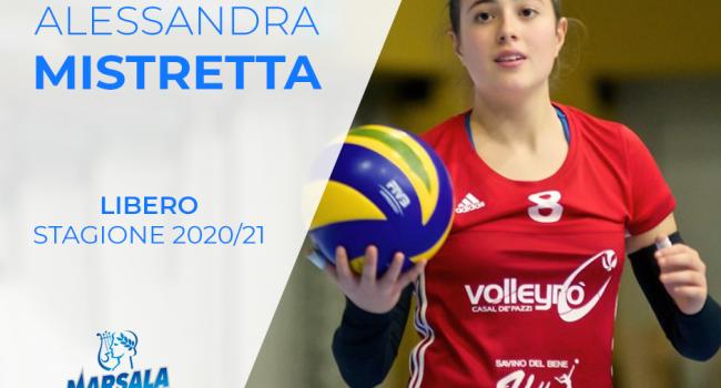 Ancora mercato per la Sigel Marsala: torna a casa Alessandra Mistretta